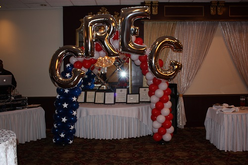 Balloon arches balloon decoration in upper marlboro md for Air force decoration points
