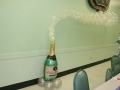 Champagne bubble for 75th birthday celebration