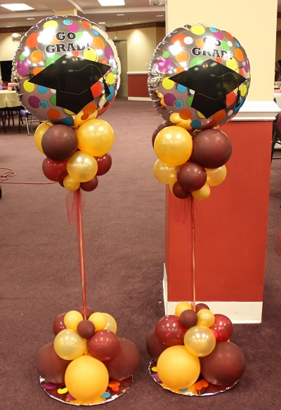 Center pieces balloon decoration in upper marlboro for Decoration ideas