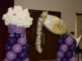 Cupcake and Champaign column topper